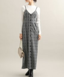ViS/【WEB限定】ジャガードジャンパースカート/502570667