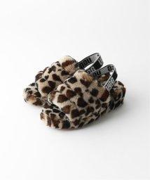 JOURNAL STANDARD relume/【UGG/アグ】Fluff Yeah Slide leopard:シューズ/502574376