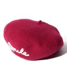 BENETTON (UNITED COLORS OF BENETTON GIRLS)/ロゴ入りベレー帽/502560026