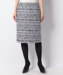 MADAM JOCONDE/【Precious掲載】【40周年記念】【セットアップ対応】ツィード タイトスカート/502562201