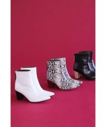 ROSE BUD/Pointed Bi Color Boots/502569688