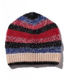 SISLEY/ミックスボーダーニット帽・ニットキャップ/502559356