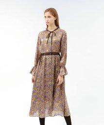 LOVELESS WOMEN/プラチナサテン フラワー ドレス/502542357