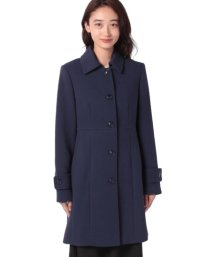 BENETTON (women)/ウエスト切り替えAラインステンカラーコート/502571124