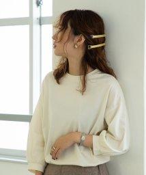 coen/【WEB限定追加生産】コットンパフスリーブ7分袖カットソー/502553185