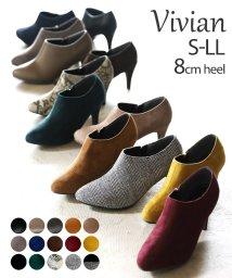 Vivian/8cmヒールキレイめブーティー/502579184