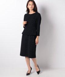 Leilian/【セレモニー】ブラウススカート セットアップ/502505454
