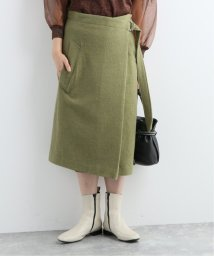 JOURNAL STANDARD/【08 SIRCUS/08サーカス】  Wool hard milled wrap skirt:スカート/502581132