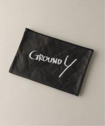 JOURNAL STANDARD/GROUND Y GY-A19-0000-267/クラッチバッグ/ブラック/502583751