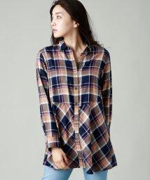 EVEX by KRIZIA/【ウォッシャブル】Deveauxチェックシャツブラウス/502577545