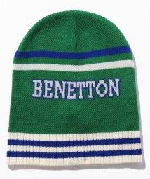 BENETTON (UNITED COLORS OF BENETTON BOYS)/ロゴニットキャップ・ニット帽(ユニセックス)/502579609