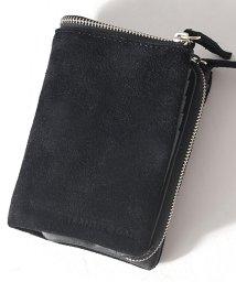 DEVICE/TransitGate G5 スエード 二つ折り 財布 ミニウォレット/502584851