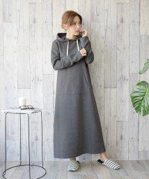 felt maglietta/裏起毛であったかいマキシ丈ワンピース/502586129