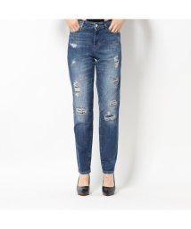 GUESS/ゲス GUESS 1981 HIGH-RISE SKINNY DENIM PANT (BORO DESTROY)/502586356