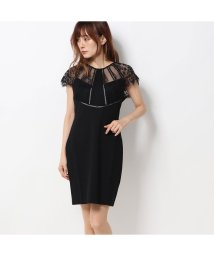 GUESS/ゲス GUESS LOREDANA LACE TOP DRESS (JET BLACK)/502586361