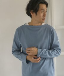URBAN RESEARCH DOORS/ORCIVAL COTTON LOURD フレンチバスクシャツ/502587548
