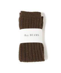 Ray BEAMS/Ray BEAMS / 太リブ レッグウォーマー/502316634