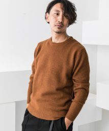 URBAN RESEARCH OUTLET/【ROSSO】エルボーパッチ付クルーネックニット/502542008