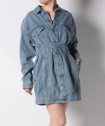 LEVI'S LADY/LMC DENIM TRUCKER DRESS LMC SILVER TIP F/502571077
