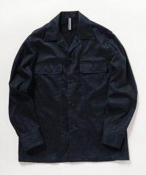 NOLLEY'S goodman/フェイクスエードシャツジャケット/502575089