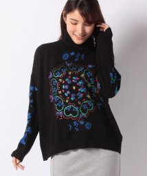 Desigual/WOMAN FLAT KNIT THIN GAUGE PULLOVER/502576807