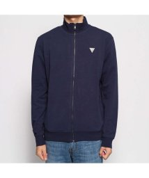 GUESS/ゲス GUESS FOX TRACK FLEECE JACKET (BLUE NAVY/BLUE)/502587980