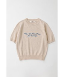 moussy/EMBROIDERY MESSAGE セーター/502588570