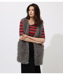 AZUL by moussy/POODLE FUR VEST/502588627