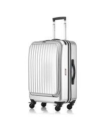 KABANNOSELECTION/サンコー スーツケース 57L Mサイズ フロントオープン 軽量 SUNCO mdlz-57/502588904