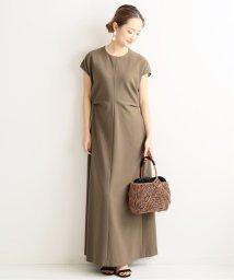 VERMEIL par iena/VIS/E オックス サイドドレープワンピース◆/502590085