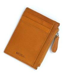MURA/MURA 財布 メンズ 本革 フラグメントケース カードケース イタリアンレザー YKKファスナー/502590141