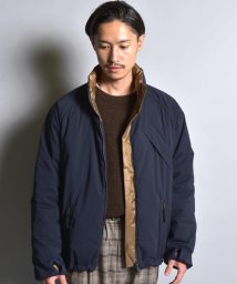 SHIPS MEN/SU: ALLIED FEATHER & DOWN LOFTECH(R) リバーシブル ブルゾン/502590747