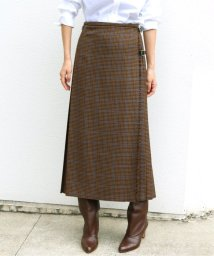IENA/【TARA MILLS/タラ ミルズ】チェックキルトスカート◆/502591107