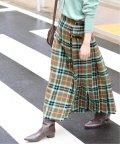 IENA/《予約》【TARA MILLS/タラ ミルズ】チェックキルトスカート◆/502591107
