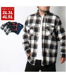 MARUKAWA/ネル 起毛 綾織チェックシャツ/502545371