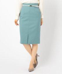 NOLLEY'S sophi/ベルト付きタイトスカート/502575081