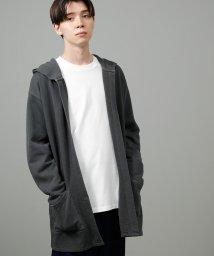JUNRed/裏毛トッパーフーディガン/502585682