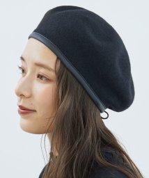 ROPE PICNIC PASSAGE/パイピングフェルトベレー帽/502587805