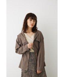 Avan Lily/ミリタリーポケットフーディシャツ/502592375