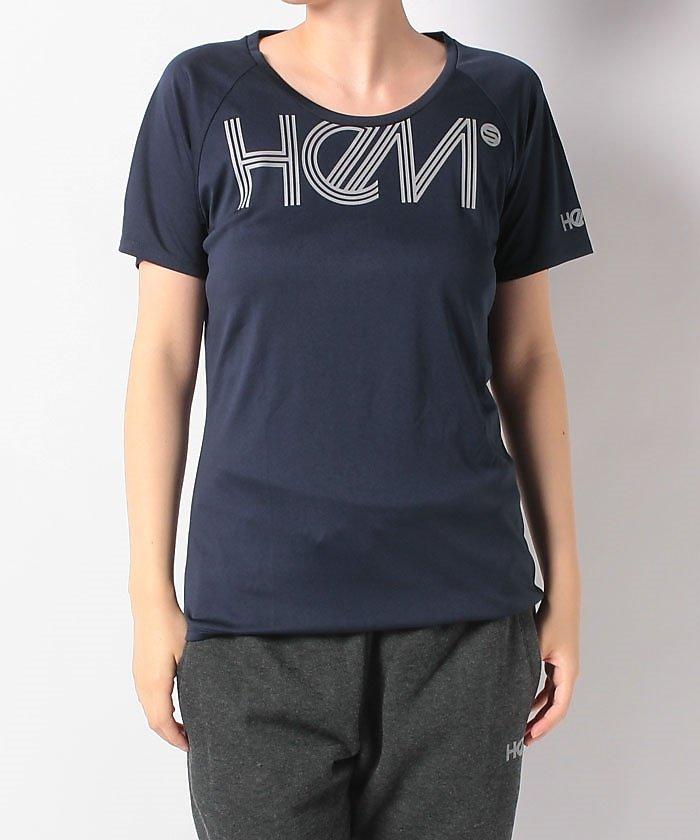 ヘム スポーツ/レディス/ベーシック ロゴ Tシャツ