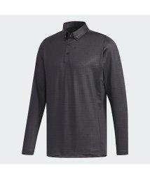 adidas/アディダス/メンズ/CLIMALITEスクエアプリント 長袖ボタンダウンシャツ/502593401