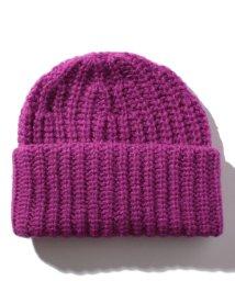 BENETTON (women)/リブニットワッチキャップ・ニット帽/502571158