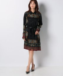 Desigual/WOMAN WOVEN DRESS LONG SLEEVE/502576749