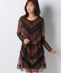 Desigual/WOMAN KNIT DRESS LONG SLEEVE/502576750
