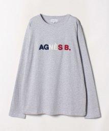 agnes b. HOMME/K281 TS ロゴTシャツ/502590129