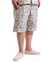 Valletta/【Valletta】 大きいサイズ 総柄プリントデザインショートパンツ[927-002] KINGサイズ 大きめ おおきい キングサイズ ショーツ /502594581