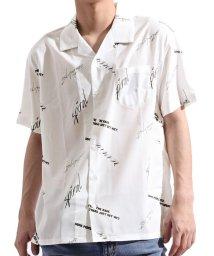 Valletta/【Valletta】 半袖 総柄ストレッチオープンカラービッグシャツ[93703602] 開襟 開襟シャツ チェック ストライプ ビッグシャツ ワイ/502594593