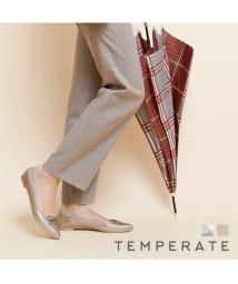 TEMPERATE/TEMPERATE ALMAGLITTER シルバーグリッターポインテッドバレエ レインシューズ/502392583