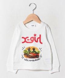 X-girl Stages/ スマイルハンバーガーTシャツ/502578521