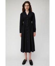 moussy/OPEN COLLAR WAIST TUCK ドレス/502596597